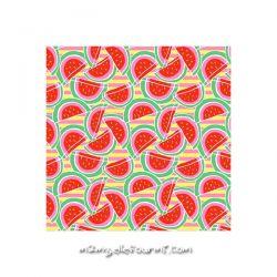 Lycra pastèques rouge