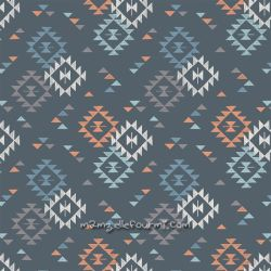 Coton triangle print night