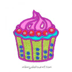 Patch thermocollant cupcake
