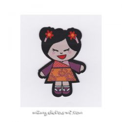 Patch thermocollant china girl