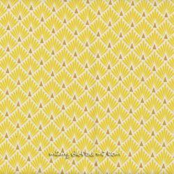 Enduit écailles dorées jaune