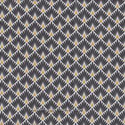 Enduit écailles dorées noir