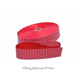Sangle pois cerise