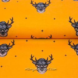 Jersey bio cerfs jaune orangé