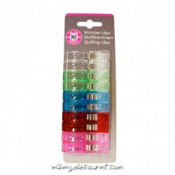 10 Pinces clip grand modèle