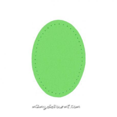 Coudières simili 6X9 vert