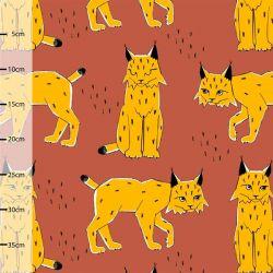 Jersey bio lynx rouille