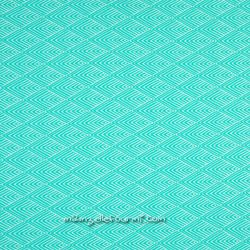 Jacquard stretch graphique mint