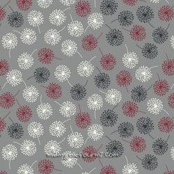 Jersey mini dandelions gris