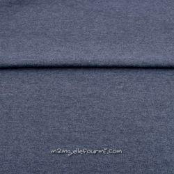 Bord-côte chiné bleu jean