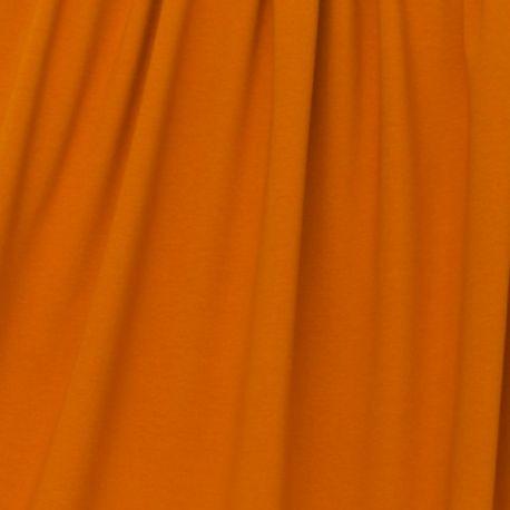 Jersey bio stretch orange/cannelle