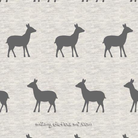 Sweat/molleton deer