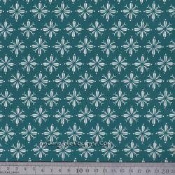 Feuille tissu adhésif norden vert