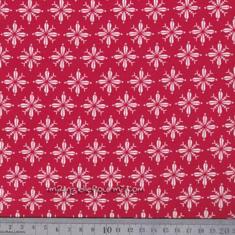 Rouleau tissu adhésif norden rouge