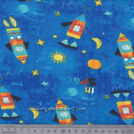 Jersey space bleu