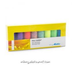 Coffret Poly sheen Mettler fluo