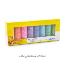 Coffret Poly sheen Mettler pastel