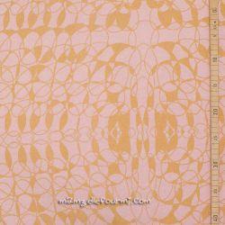 Jersey de laine peppy rose doré bio