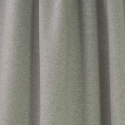 Molleton bio chiné gris
