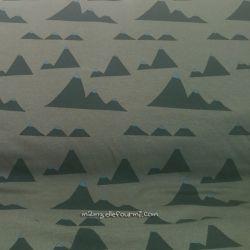 Molleton mountains vert