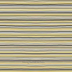 Jersey mini rayures gris/jaune