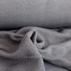 Maille lurex gris/argent