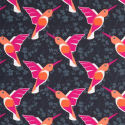 Sweat colibris anthracite/rose