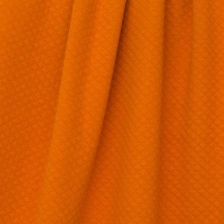 Matelassé bio orange/cannelle