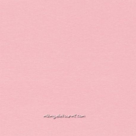 Bord-côte rose pâle