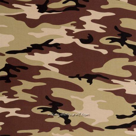 Jersey camouflage vert