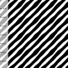 Jersey bio diagonal noir/blanc
