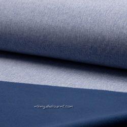 Softshell effet brossé bleu