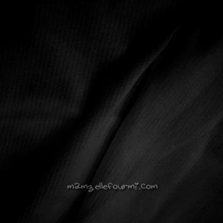 Doublure maillot mousse noire