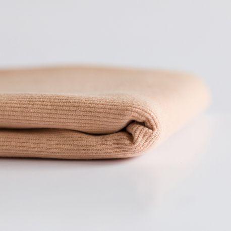 Bord-côte brun poudré