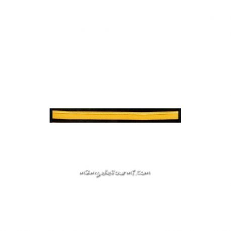 Passepoil élastique jaune soleil