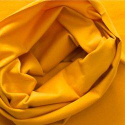 Bord-côte bio tubulaire moutarde