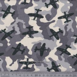 Sweat army airplane gris