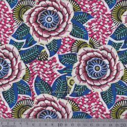 Coton dahlia rose