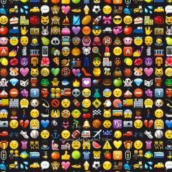 Microfibre polyester emoji