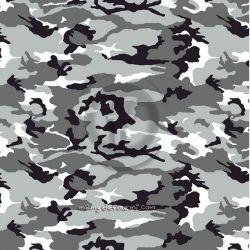 Microfibre polyester camo gris