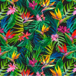 Microfibre polyester palms multi