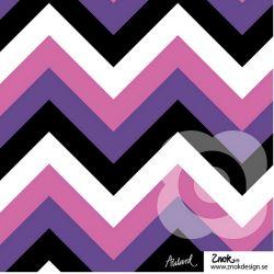 Jersey bio zigzag violet