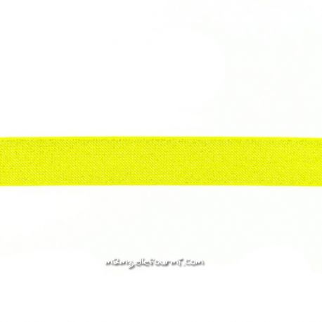 Élastique 25 mm glitter jaune