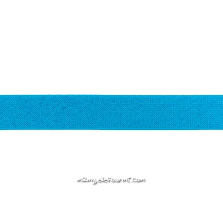 Élastique 25 mm glitter turquoise
