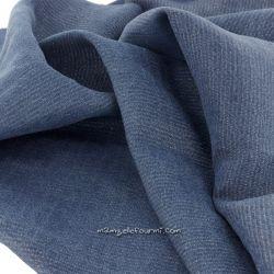 Tencel jeans lurex argent