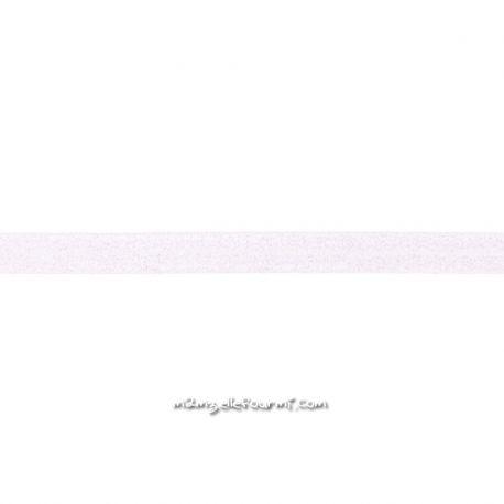 Biais élastique préplié scintillant rose très pâle-20mm