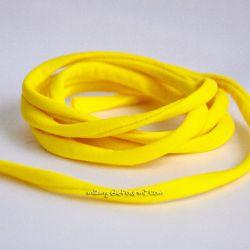 Cordon lycra jaune maïs
