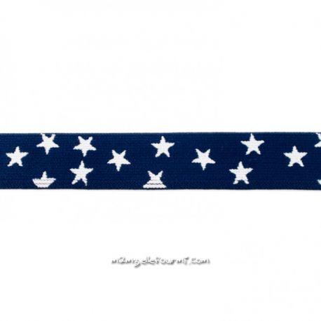 Élastique shorty stars marine