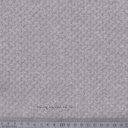 Jersey texturé chiné gris clair