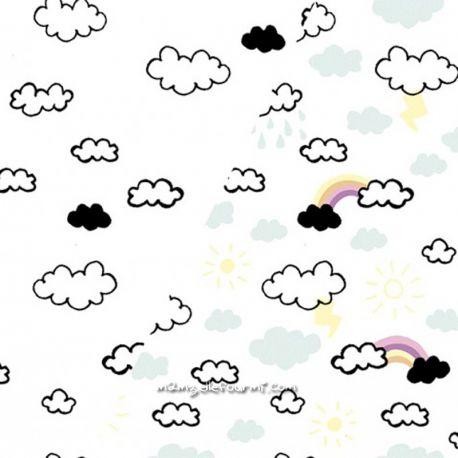 Jersey magique nuages